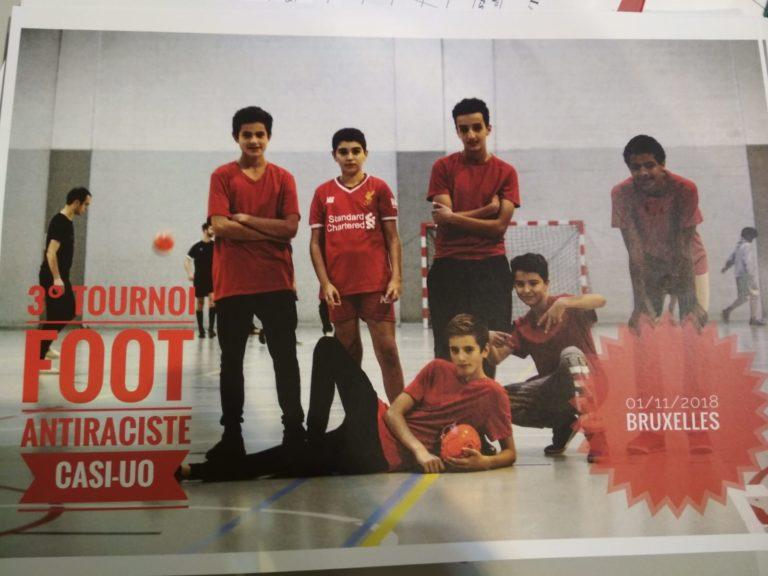 Tournoi de foot antiraciste