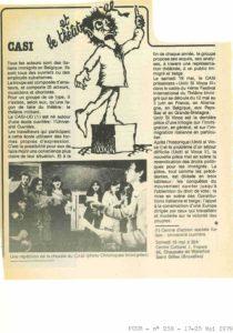 CASI article Pour 1979