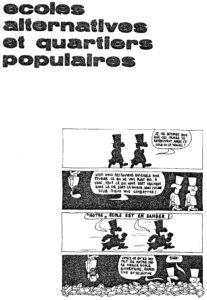ECOLE ALTERNATIVES ET QUARTIERS POPULAIRES texte 1975-page01