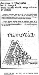 MOSTRA DI FOTOGRAFIA MEMORIA 1979