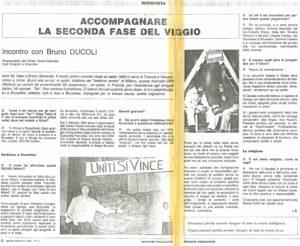 ACCOMPAGNARE LA SECONDA FASE DEL VIAGGIO articolo Missione migrazione 1983