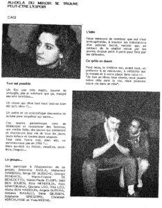 CASI dans BRUXELLES BABEL 1986