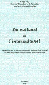 Du culturel à l'interculturel 1991