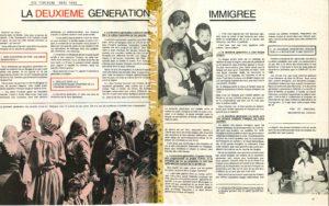 LA DEUXIEME GENERATION IMMIGRE Vie Feminine 1980