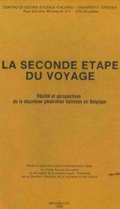 LA SECONDE ETAPE DU VOYAGE 1982