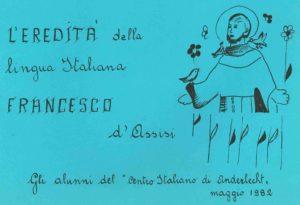 L'EREDITA DELLA LINGUA ITALIANA 1982