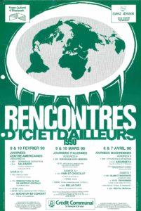 RENCONTRE D ICI ET D AILLEURS 1990