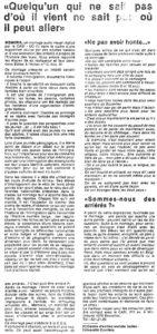 article Echec à l echec 1983
