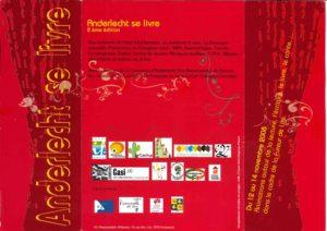 ANDERLECHT SE LIVRE brochure 2008