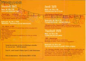 ANDERLECHT SE LIVRE programme 2008