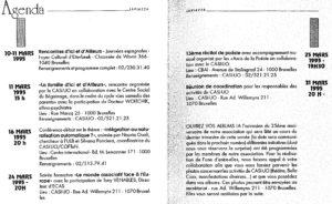 LA PIAZZA N.45 Février 1995 agenda