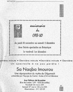 LA PIAZZA N.47 Mai 1995 anniversaire du Casi-UO